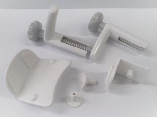 64621 - Serenity Toilet Seat - Complete set of brackets